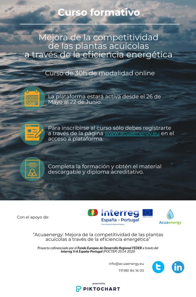 Curso Mejora competitividad plantas acuicolas - Eficiencia energética